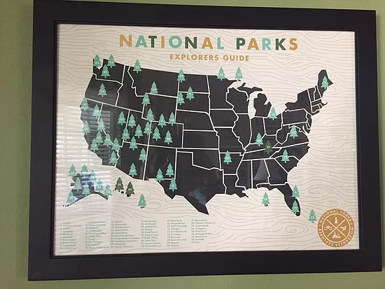national parks family