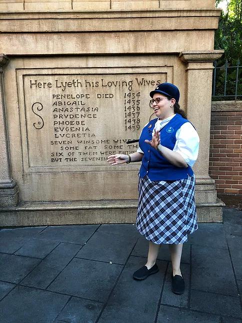 Disney tours info